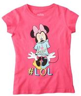 "Disney Girls' ""I Love Mickey #LOL"" Graphic Tee"