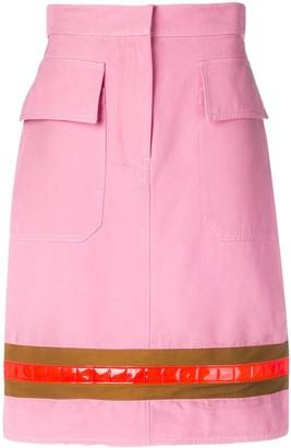 Calvin Klein Stripe Detail Skirt