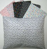 SheetWorld Percale Twin Pillow Case - Primary Stars Collection - Made In USA