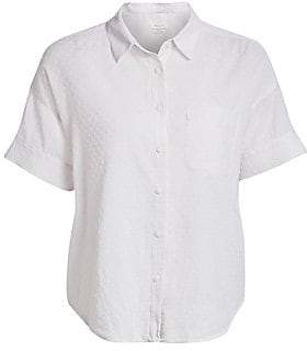 Rag & Bone Women's Lenny Tie Shirt
