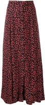 Thumbnail for your product : Ganni Floral-Print Midi Skirt