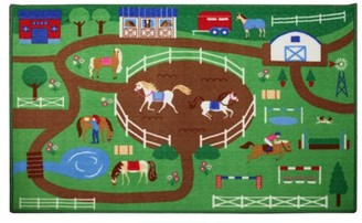 Wildkin Horse Play Rug