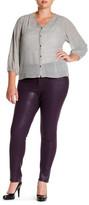 NYDJ Sheri Coated Skinny Jean (Plus Size)