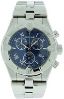 Roberto Cavalli R7253616035 Diamond Time Men's Chrono Date Blue Analog Watch