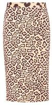 Givenchy Printed Pencil Skirt