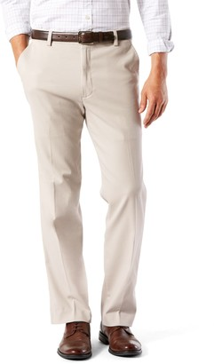 Dockers Big & Tall Stretch Easy Khaki Classic-Fit Flat-Front Pants