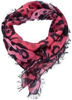 McQ by Alexander McQueen leopard print scarf