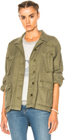The Great Commander Jacket in Green.