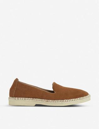 Bertie Grasp suede loafers