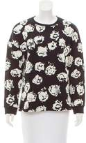 Ungaro Patterned Long Sleeve Sweatshirt