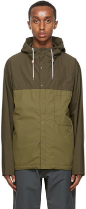 Nanamica Green Cruiser Jacket