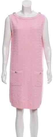 Chanel Textured Knit Dress