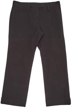 Sonia Rykiel Black Cotton Trousers