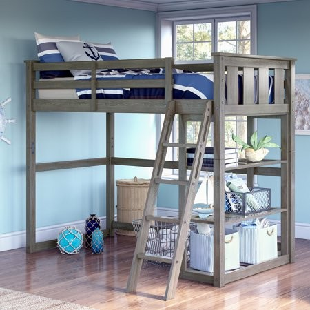 Twin Loft Bed.Kane Twin Loft Bed Multiple Finishes