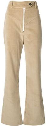 A.W.A.K.E. Mode Yoke Detail Corduroy Trousers
