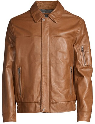 Andrew Marc Balthazar Leather Jacket