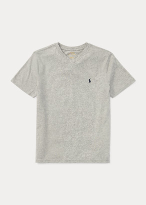 Ralph Lauren Cotton Jersey V-Neck Tee