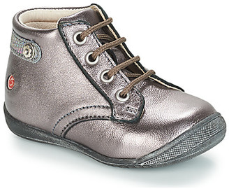 GBB NICOLE girls's Mid Boots in Silver
