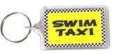 Bay Six Swim Taxi Key Ring 27192