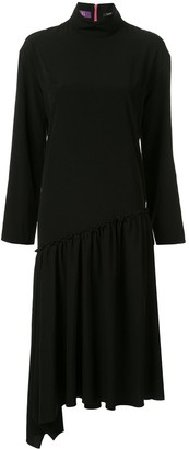 Y's Asymmetric Sweater Dress
