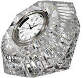 Waterford Crystal Lismore Diamond-Shaped Clock