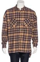 Fear Of God 2015 Plaid Flannel Shirt
