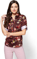 New York & Co. 7th Avenue - Madison Stretch Shirt - Floral