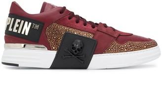 Philipp Plein Embellished Low-Top Sneakers