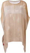 Mes Demoiselles striped tunic - women - Cotton - One Size