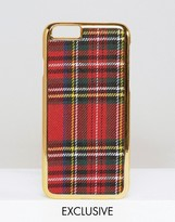 Asos WAH LONDON x Plaid iPhone 6 Case