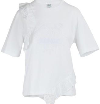 Kenzo Tiger ruffled t-shirt