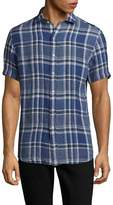 Ralph Lauren Purple Label Men's Bond Modern Fit Plaid Button-Down Shirt