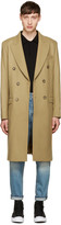 Éditions M.R Camel Double-Breasted Coat