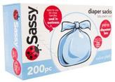 Sassy Scented Diaper Sacks 200-Pack
