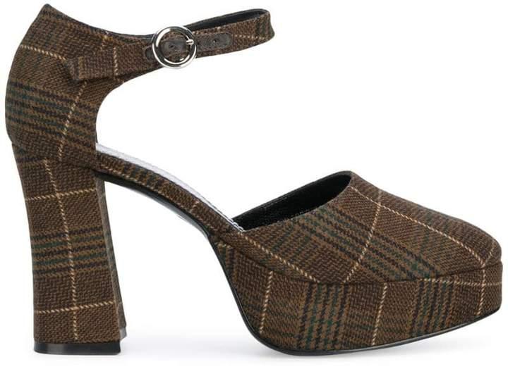 4a4771290 Plaid Pump Shoes - ShopStyle