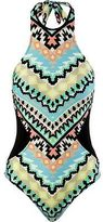 Seafolly Kasbah High Neck Maillot One-Piece Swimsuit - Women's