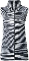 Missoni zipped knit tank top