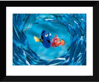 Disney Finding Nemo ''The Moonfish entertain Marlin and Dory'' Giclee
