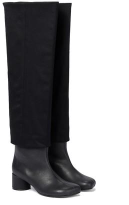 MM6 MAISON MARGIELA Leather knee-high boots