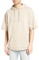Men's The Rail Zip Detail Short Sleeve Hoodie