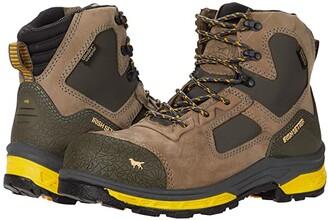 Irish Setter Kasota 6 83646 Waterproof Safety Toe (Brown/Gold) Men's Work Boots