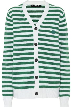Acne Studios Striped wool cardigan