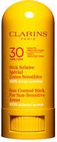 Clarins Sun Control Stick For Sun-Sensitive areas UVA/UVB 30 100% Mineral Screen