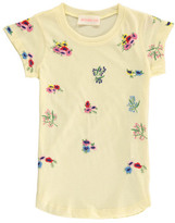 Simple Sale - Ellis Flower Embroidered T-Shirt