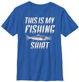 Fifth Sun Royal 'This Is My Fishing Shirt' Tee - Boys