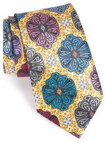 Ermenegildo Zegna Men's Medallion Silk Tie