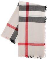 Burberry Check Merino Wool Jacquard Scarf