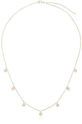 Shay 18kt Rose Gold Pave Diamond Necklace