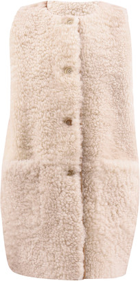Marni Long Reversible Shearling Vest