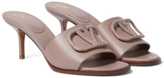 Valentino VLOGO leather sandals